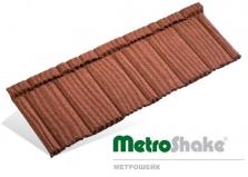 Композитная черепица MetroShake (Метрошейк)