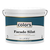 Colors Facade Silat - силікатна фасадна фарба (9л)