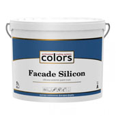 Colors facade Silicon - cиліконова фасадна фарба (9л)